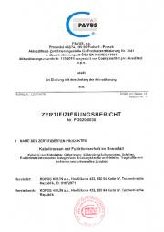 Zertifizierungsbericht DIN