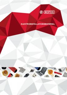 Elektroinstallations- material