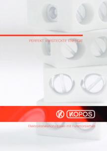 Elektroinstallations- dosen mit Funktionserhalt