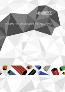 Systeme für erdverlegte Installationen