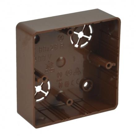 LK 80X28R/1 I2 - krabice přístrojová (imitace)