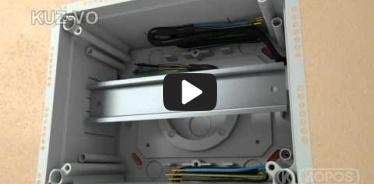 Embedded thumbnail for Montageanleitung Universaldose KUZ-VO mit klappbarem Deckel