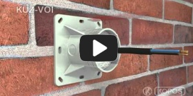 Embedded thumbnail for Montageanleitung Universaldose KUZ-VOI in Wärmedämmung mit klappbarem Deckel