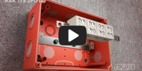 Embedded thumbnail for Montageanleitung Elektroinstallationsdosen KSK 175 mit Funktionserhalt