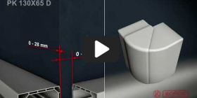 Embedded thumbnail for Montageanleitung Brüstungskanal PK 130x65 D