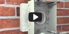Embedded thumbnail for Montageanleitung Universaldose KUZ-VI mit Deckel in Wärmedämmung