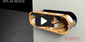 Embedded thumbnail for Montageanleitung Hohlwanddose KPL 64-50/3LD