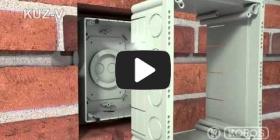 Embedded thumbnail for Montageanleitung Universaldose KUZ-V mit Deckel